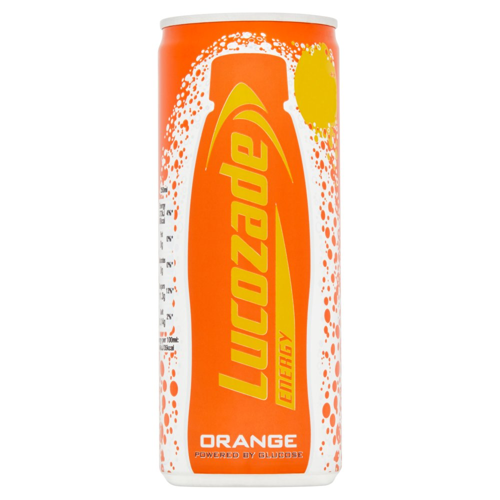 Lucozade Orange  (250ml x 24) PM
