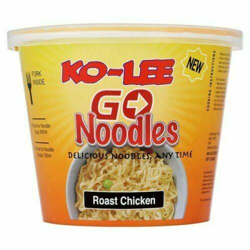 Ko-Lee Cups Noodles  Roast Chicken  (65g x 6)