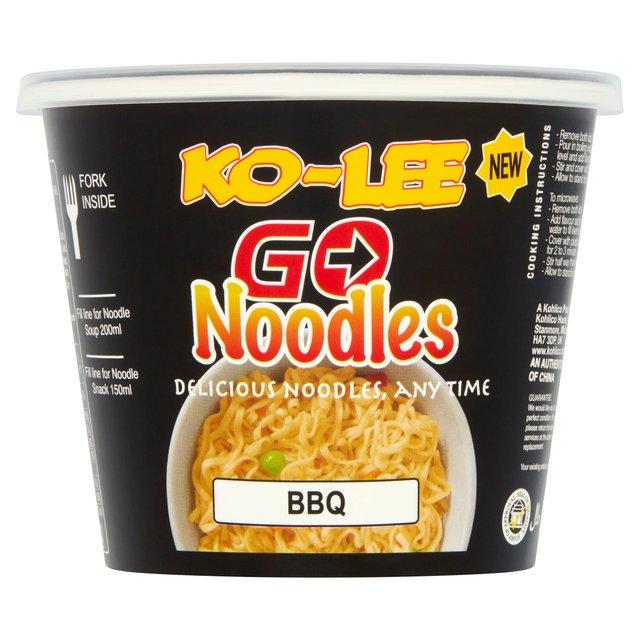 Ko-Lee Cups Noodles  BBQ (65g x 6)