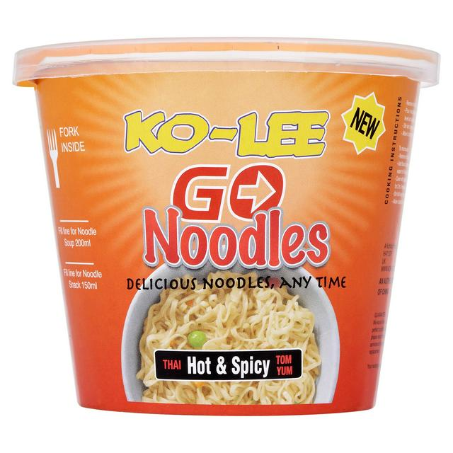 Ko-Lee Cups Noodles  Hot & Spicy (65g x 6)