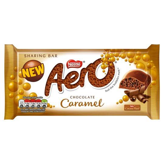 Aero Caramel £1 PM Block