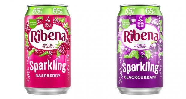 Ribena Sparkling Raspberry 330mlx24 PM