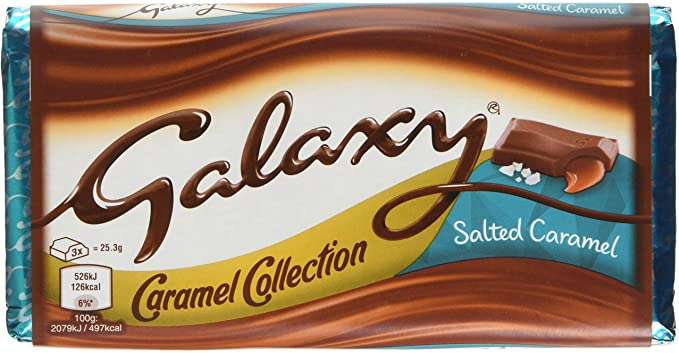 Galaxy Salted Caramel £1 Block