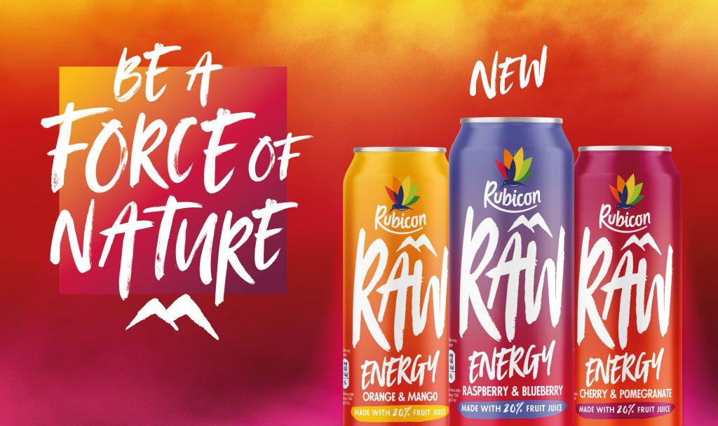 Rubicon Raw Raspberry & Blue berry  500ml x 12 PM £1.29