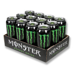 Monster Energy can 500ml x 12 PM