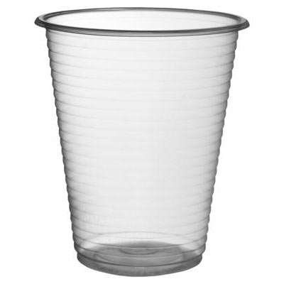 7oz Plastic Clear Cups  100 x 30