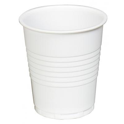 Plastic White Cups  (100 x 30)