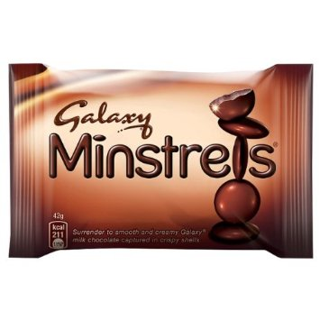 Galaxy Minstrels Bag Std  42g