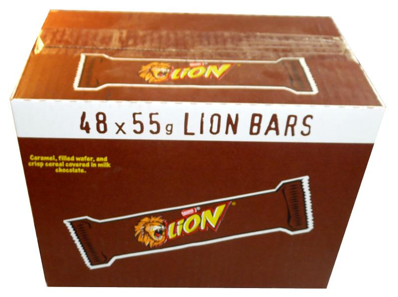 Lion Bar  48 x 55g