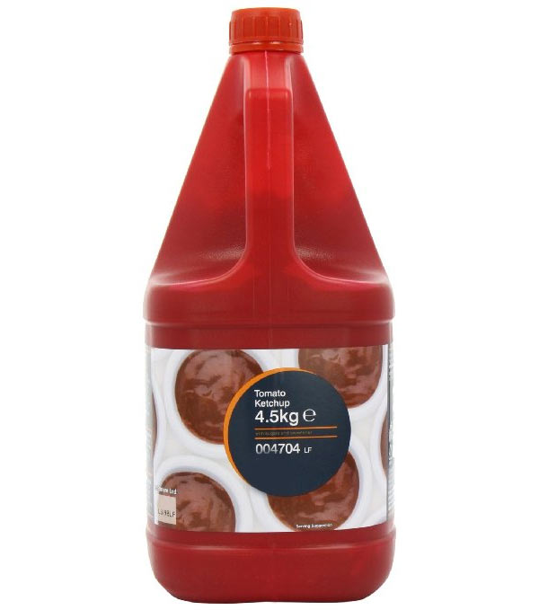 Tomato ketchup 4l x 2