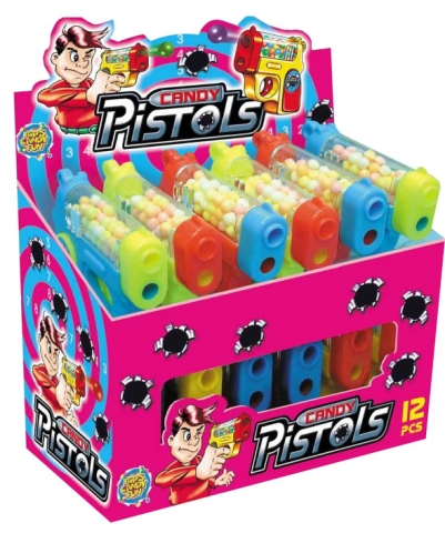 Candy Pistol (50p x 12)