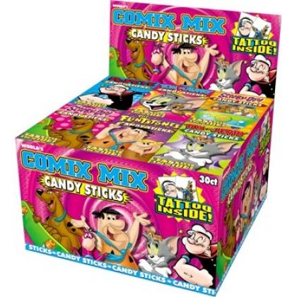 Comix Mix Candy Sticks (20p x 60 count)