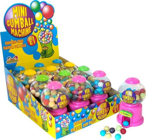 Mini Gumball Machine (99p x 12)