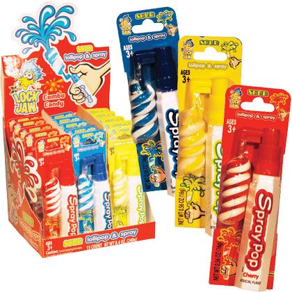 Spray Pop Candy ( x 15)