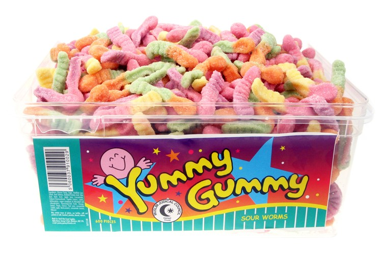 Yummy Gummy Assoted Box (29p x 6 x 24)