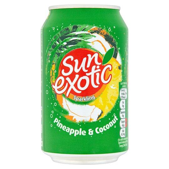 Sun Exotic Spk Tropical (330ml x 24)