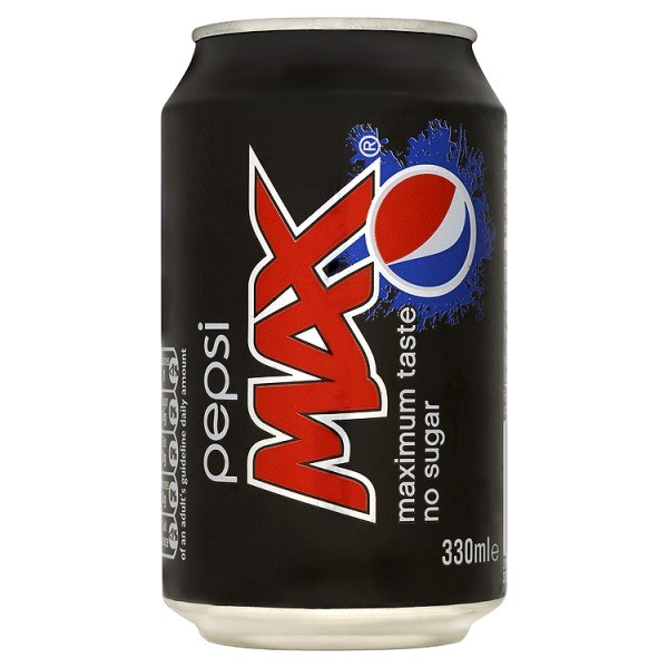Pepsi Max (330ml x 24) GB NP