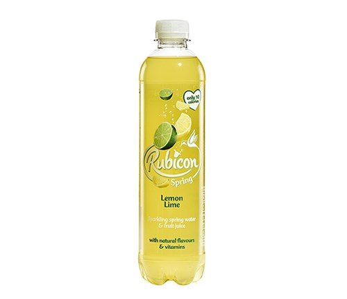 Rubicon Spring Lemon & Lime 500ml x 12