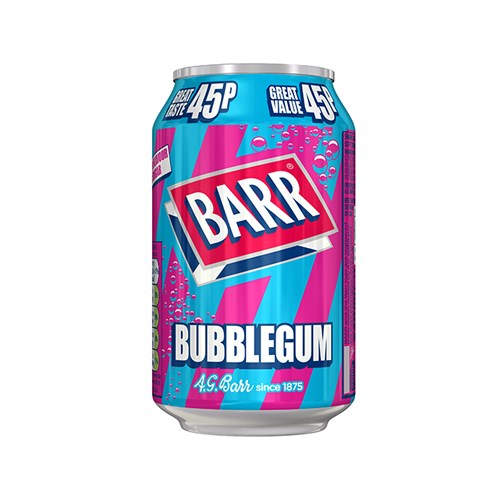 Barr Bubblegum 330ml x 24 PM