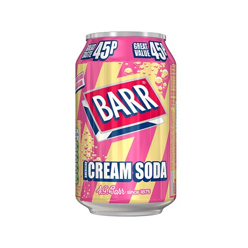 Barr Cream Soda 330 X 24 PM
