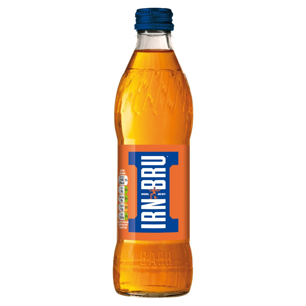 Irn Bru Glass Bottles (330ml x 24)