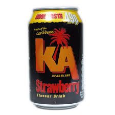 KA Strawberry 330ml x 24 PM