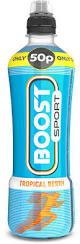 Boost Sport Tropical Berry 500ml x 12 PM
