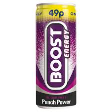 Boost Energy Punch Power S/F 250ml x 24