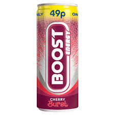 Boost Energy Cherry Burst 250ml x 24 PM