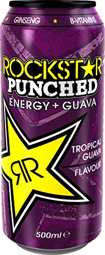 Rockstar Punched Guava 500ml x 12 PM