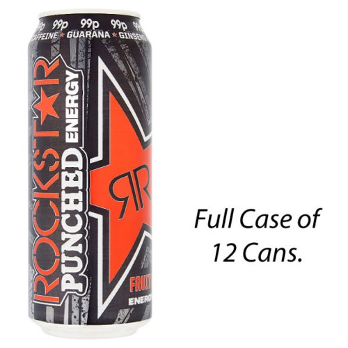 Rockstar Punched Fruitpunch 500ml x 12 PM
