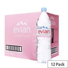 evian water 1.5l x 12