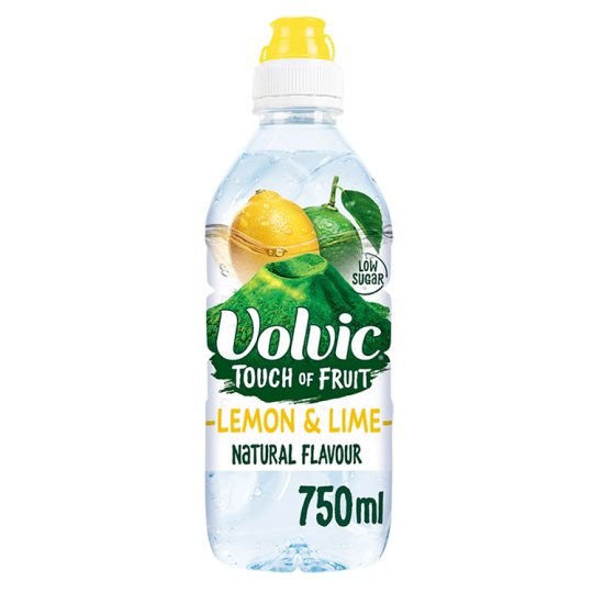 Volvic TOF  Lemon & Lime 750ml x 6