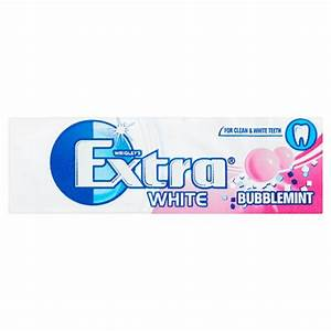 Extra Ice White Bubblemint