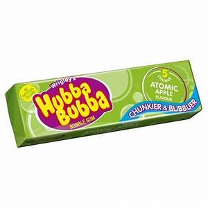 Hubba Bubba Atomic Apple green