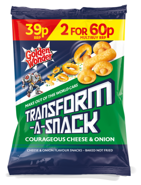 Transform-A-Snack Cheese & Onion PM