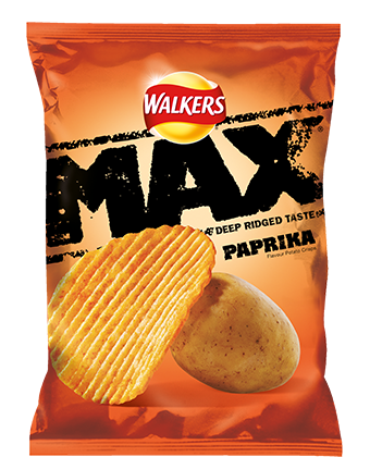Walkers Max Paprika Std PM