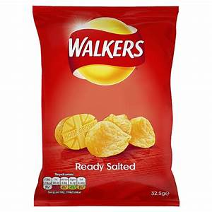 Walkers Ready Salted Std PM