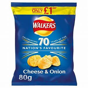 Walkers Cheese & Onion £1.00 PM