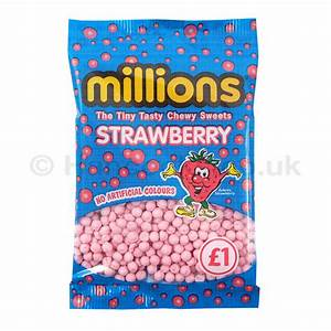 Millions £1.00 Bags Strawberry