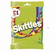 Skittles crazy sours £1.00 bag