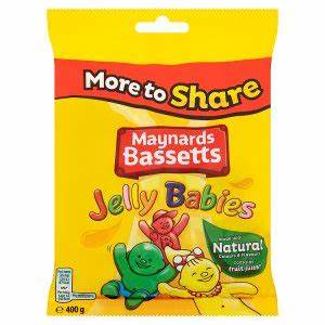 Maynards Bassetts Jelly Babies £1.00 bags