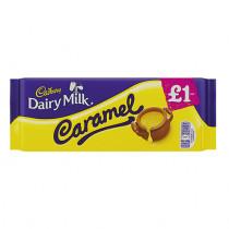 Dairy milk Caramel £1.00 Block