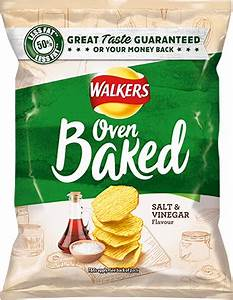 Walkers Oven Baked Salt & Vinegar