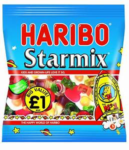 Haribo Starmix bags £1.00