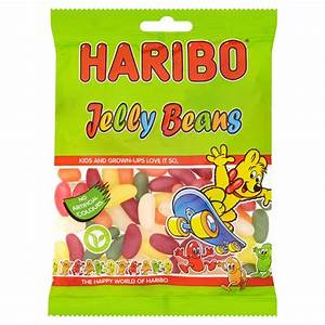 Haribo Jellybeans bags £1.00