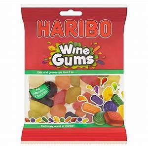 Haribo Wine Gums bag £1.00