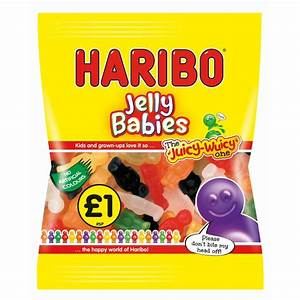 Haribo Jelly Babies bag £1.00